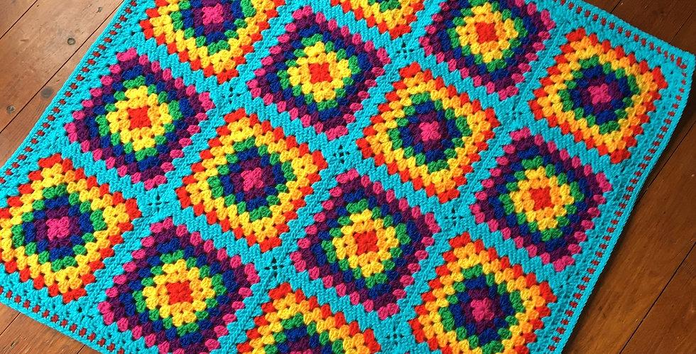 Rainbow Baby/Pram Blanket