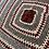 Thumbnail: Grey, Burgundy & Cream Cot/Small Blanket/Throw