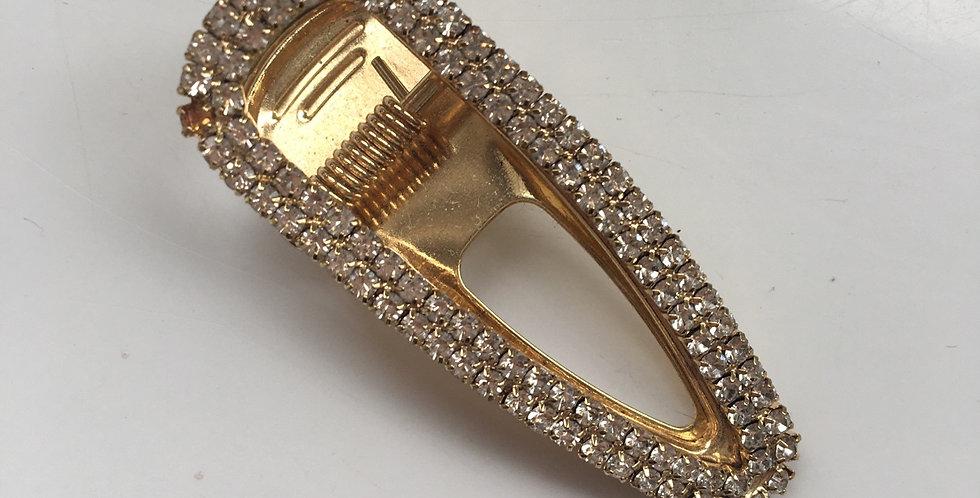 Double Diamond Small Crocodile Clip