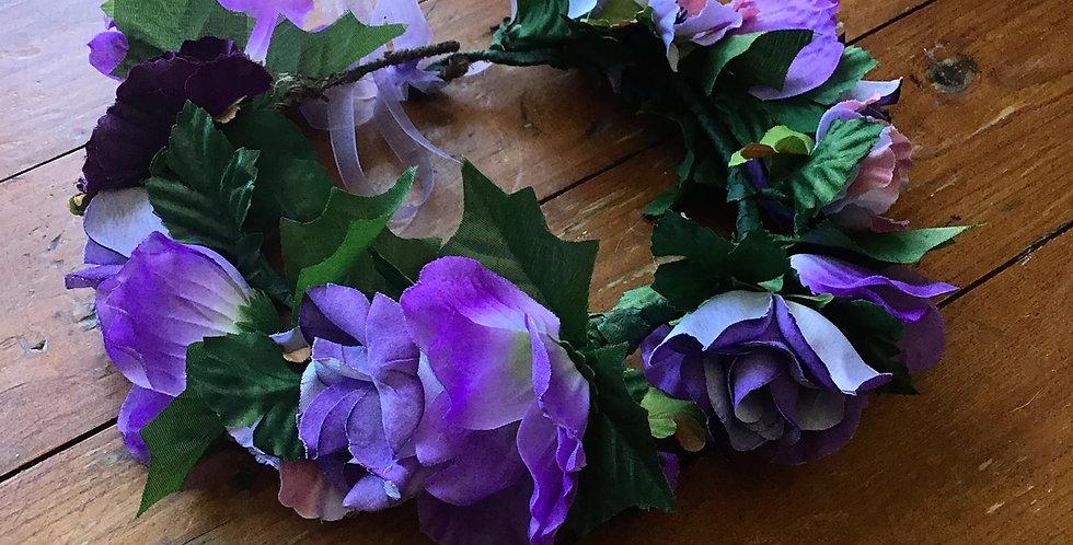 'Violet & Indigo' Crown
