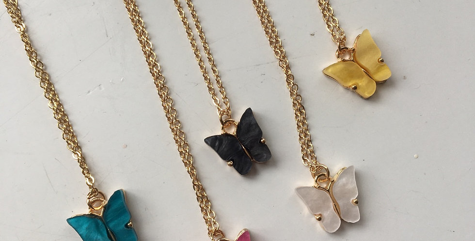 Butterfly Gold Chain