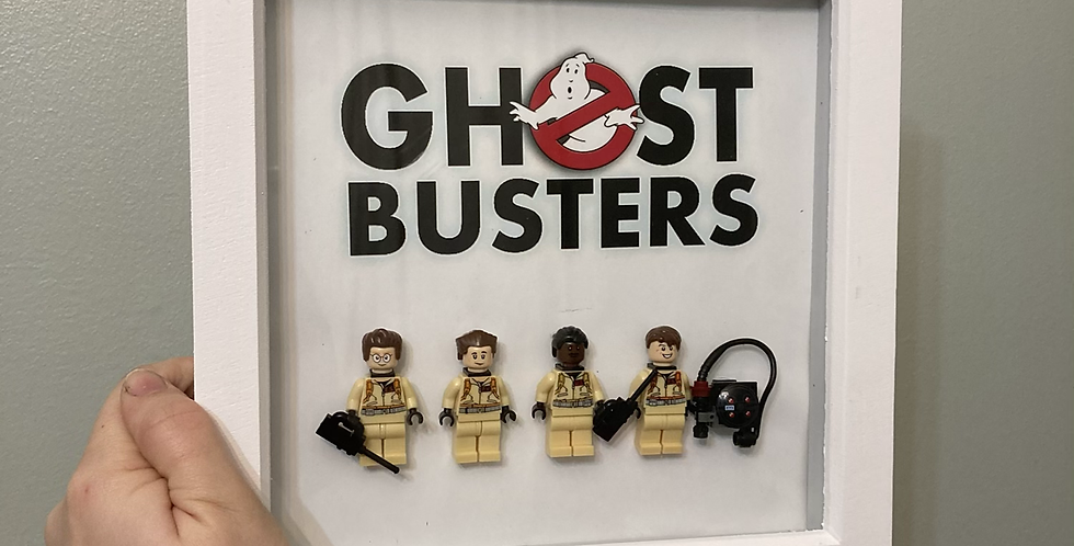 Ghost Buster Lego Frame