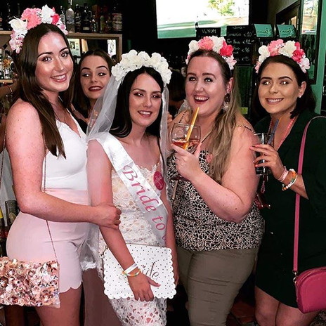 not one set of hen party bands but two �
