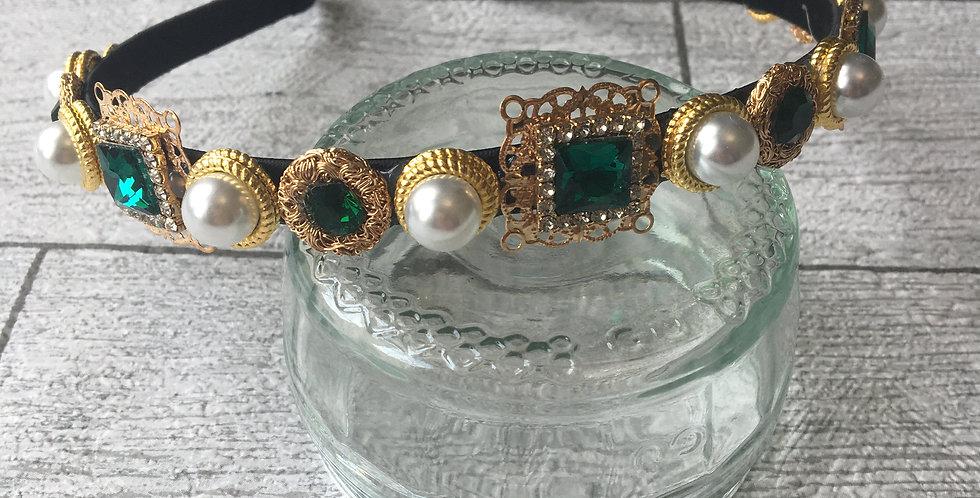 'Emerald' Embellished Band