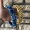 Thumbnail: Blue Handsewn Beaded Padded Band