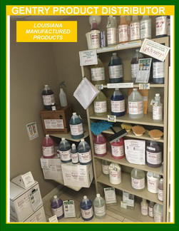 GENTRY PRODUCT DISTRIBUTOR