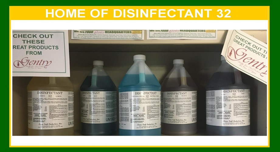 HOME OF DISINFECTANT 32