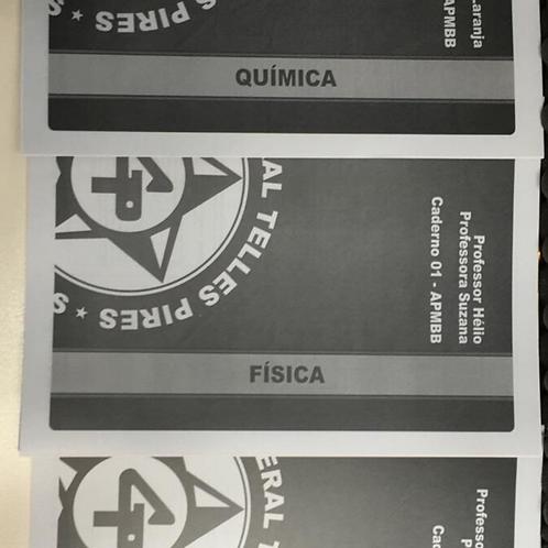 Física, Química e Biologia - Oficial da Polícia Militar de SP
