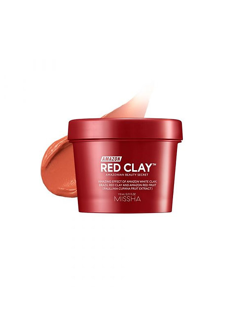 Missha Amazon Red Clay Mask