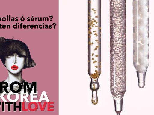 ¿Ampollas o sérum? ¿Hay diferencias?