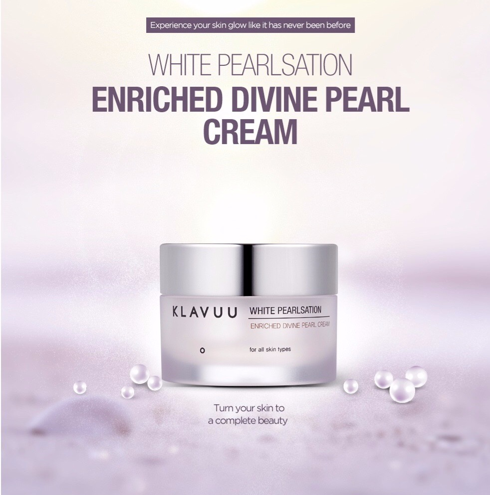 From Korea With Love Blog White Pearlsation Enriched Divine Pearl Cream
