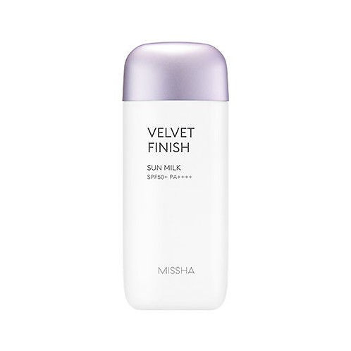 Missha All-Around Safe Block Velvet Finish Sun Milk SPF50 + PA ++++ 70ml