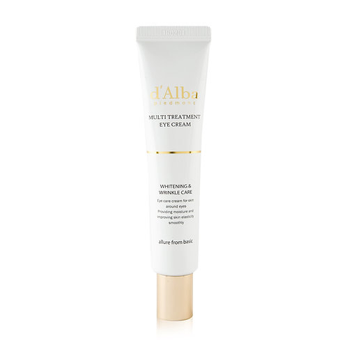 d'Alba Piedmont White truffle Multi Treatment Eye Cream 30 ml