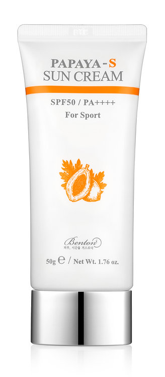 Benton Papaya-S Sun Cream SPF50+/PA++++ For Sport