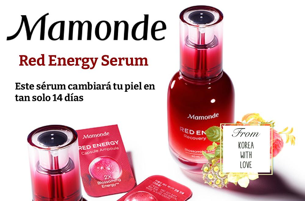 Mamonde Red Energy Recovery Serum opiniones
