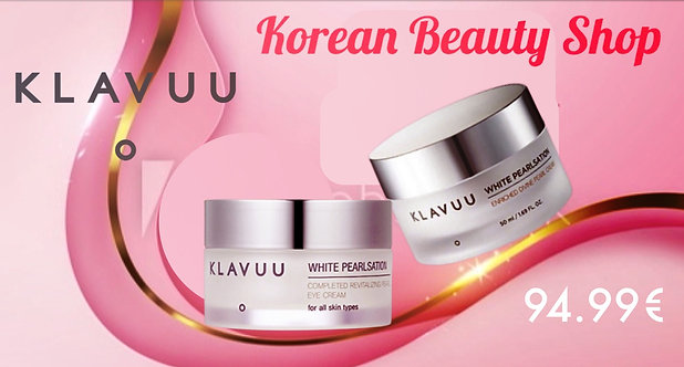 Klavuu White Pearlsation Enriched Divine Pearl Face and Eye Cream