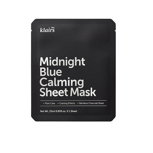 Klairs Midnight Blue Calming Sheet