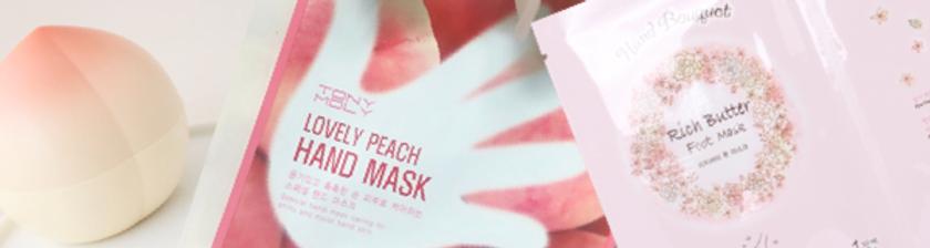 Hands cosmetics at Korean Beauty Shop