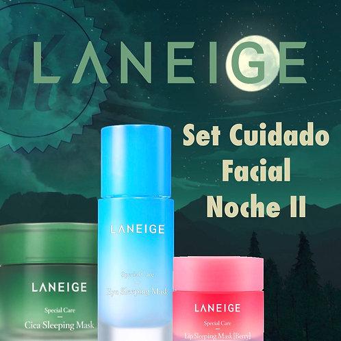 Set Cuidado Facial Noche II de LANEIGE (Pieles sensibles)