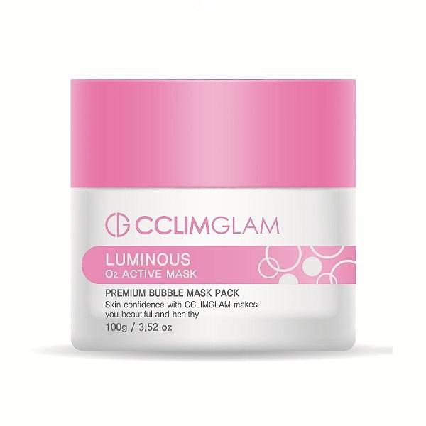 CCLIMGLAM Luminous O2 Active Mask 100 ML