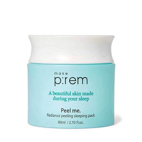 Make P:REM Peel Me Radiance Peeling Sleeping Pack 80 ml