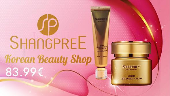 Shangpree Intensive Gold Cream and Eye Cream