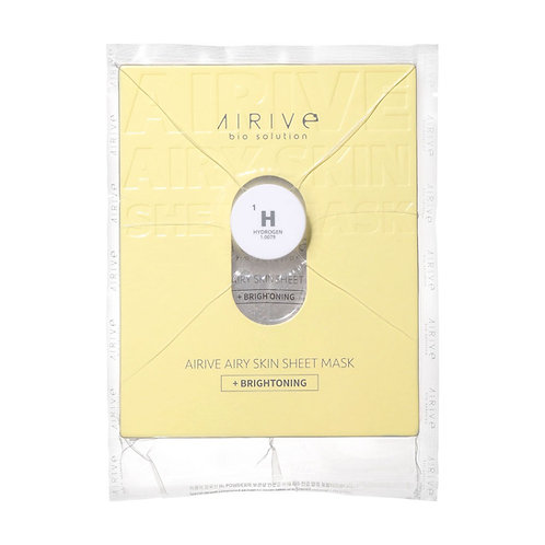 Airive Aire Skin Sheet Mask BRIGHT oning