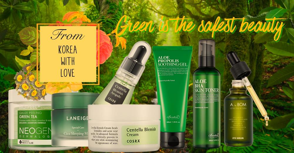Descubre la cosmética coreana natural en el blog cosmética coreana en español From Korea With Love