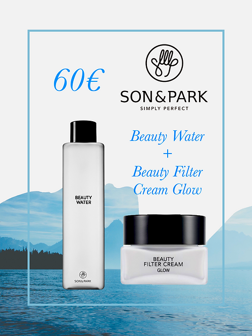 "Pack Son&Park ""Beauty Water + Beauty Filter Cream Glow"""