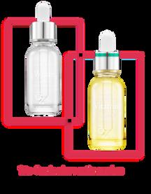 9WISHES Duo ampollas faciales iluminadoras y blanqueantes