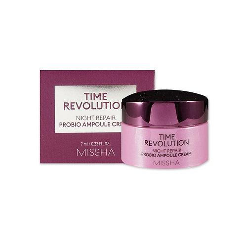 Missha Time Revolution Night Repair Probio Ampoule Cream Mini