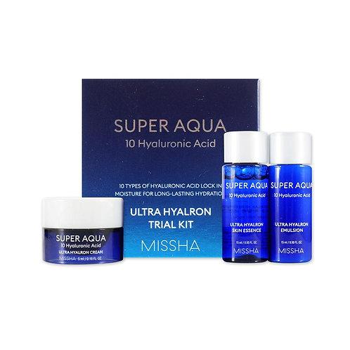 Missha Super Aqua Ultra Hyaluron Trial Kit