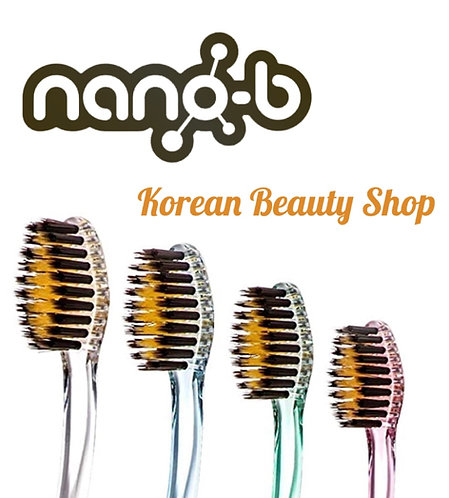 Nano B Charcoal Gold Toothbrush