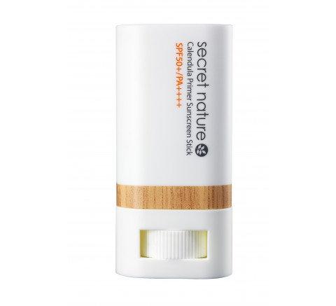 Secret Nature Calendula Primer Moisturizing Sunscreen Stick SPF50