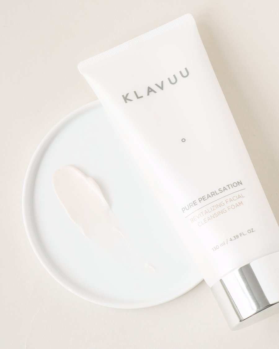 Klavuu From Korea With Love Blog  Pure Pearlsation Revitalizing Facial Cleansing Foam