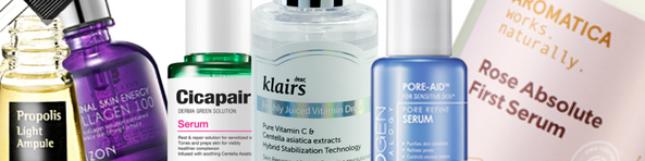 Serum coreanos a base de ingredientes naturales. Solo en Koren Beauty Shop EU