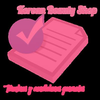 Términos y condiciones generales de compra de Korean Beauty Shop