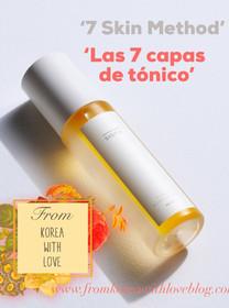 '7 Skin Method' el tratamiento kbeauty que cada vez cuenta con más adeptos y adeptas...