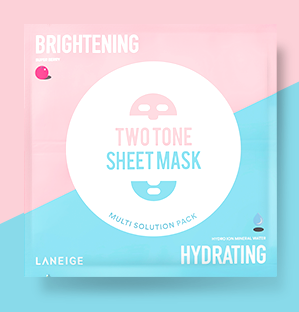 LANEIGE Two Tone Sheet Mask Brightening & Hydrating