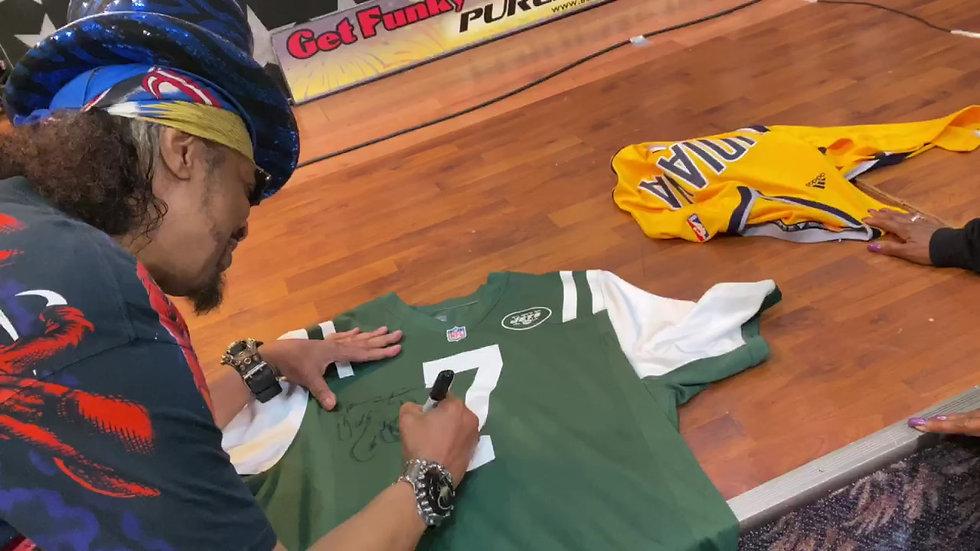Signed New York Jets Jersey