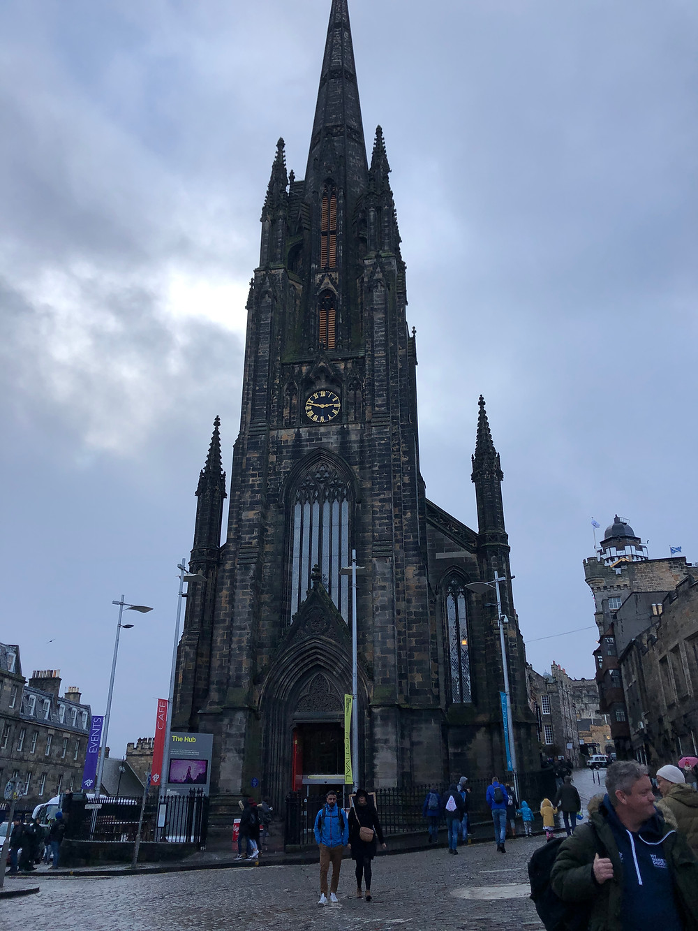 St. Giles' Cathedral in Edinburgh