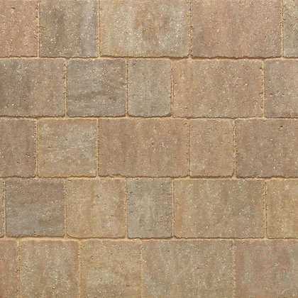 Stonemarket Trident Driveway Block Paving Small 120 x 160 x 60mm Forest Blend