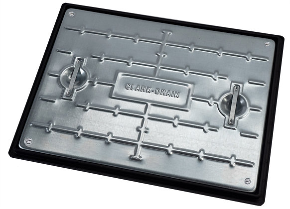 Solid Top Galvanised Double Seal Manhole Cover and Frame 600x450mm