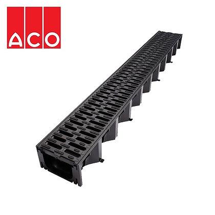 Aco Hexdrain & Black Plastic Grate