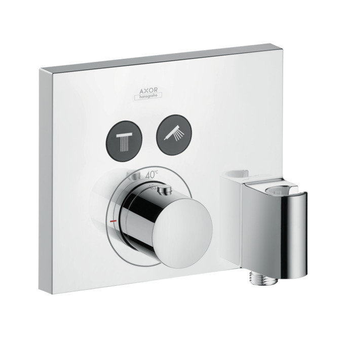 Hansgrohe ShowerSelect Square Thermostatic Mixer Chrome