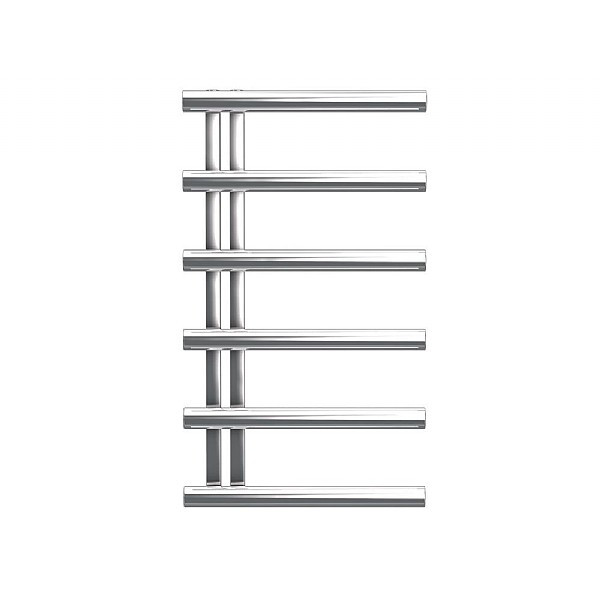Bisque Chime Chrome Heated Towel Radiator