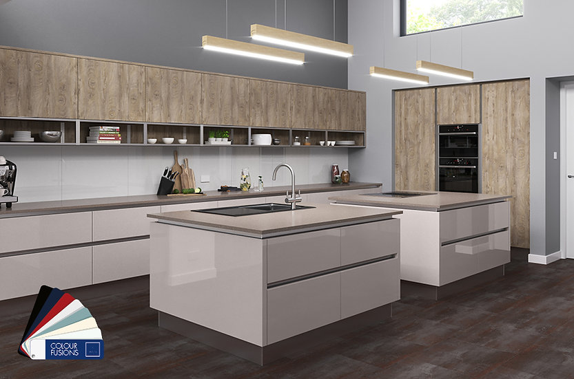 Crown Imperial Textura Kitchen by Kuche & Bagno