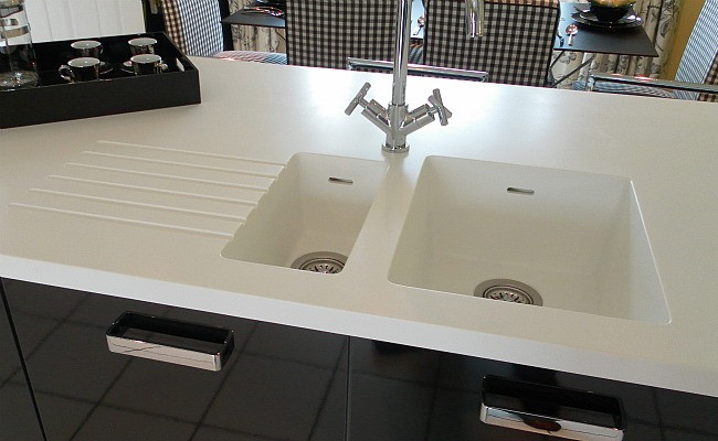 Corian 38mm White Glacier Solid Worksurface