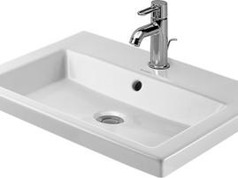 Duravit 2nd Floor Counter Top Basin 580mm White