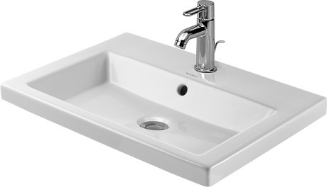 Duravit 2nd Floor Counter Top Basin 580mm White
